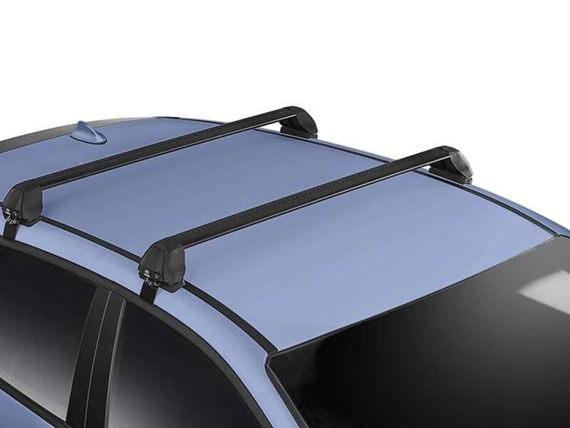 Hyundai genuine roof racks.