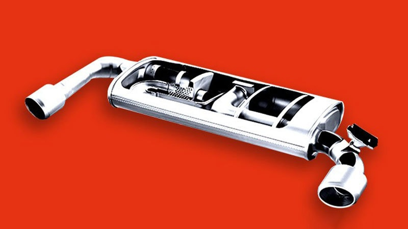 Active variable exhaust system.