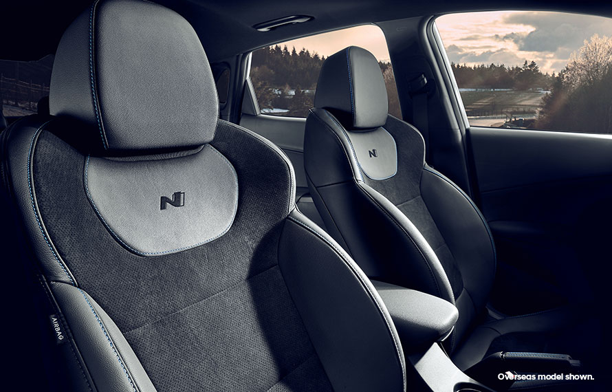 N-exclusive interior styling.