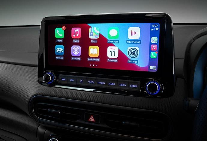 Apple CarPlay<sup>TM[P1]</sup> and Android<sup>TM[P2]</sup> Auto.