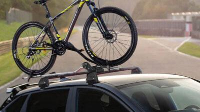 Bike carrier - wheel on