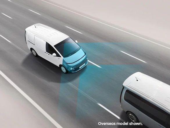 Forward Collision-Avoidance Assist (FCA) – City/Urban/Interurban/ Pedestrian/Cyclist/ Junction Turning (camera & radar).